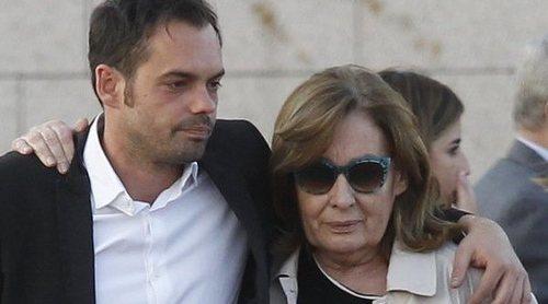 La familia de José María Íñigo, rota de dolor en su adiós definitivo