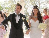 Cesc Fábregas y Daniella Semaan se casan en una romántica e íntima boda