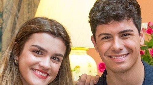 Amaia y Alfred, todo complicidad improvisando 'City of stars' en la embajada de España en Portugal