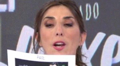 Paz Padilla pregunta a Jorge Javier Vázquez si prefiere que le sustituya Carlota Corredera o ella