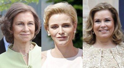 La Reina Sofía, la Duquesa María Teresa, la Princesa Charlene y otras royals extranjeras
