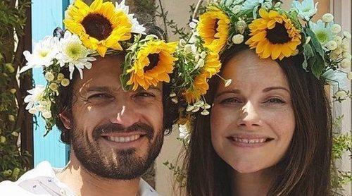 Los Príncipes Carlos Felipe y Sofía de Suecia hacen pública su intimidad