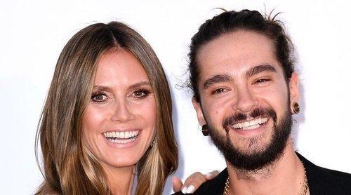 Heidi Klum y Tom Kaulitz, todo pasión y complicidad en la alfombra roja del Festival de Cannes 2018