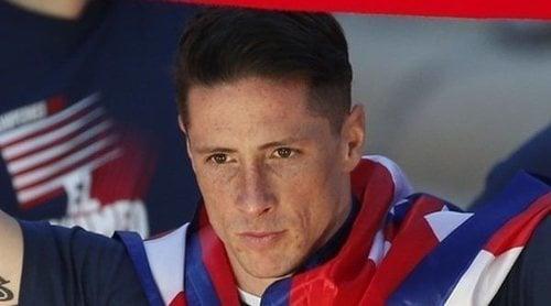 Fernando Torres se despide del Atlético de Madrid entre lágrimas