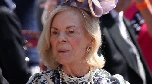 La Duquesa de Kent sorprende con su atuendo en la boda del Príncipe Harry y Meghan Markle