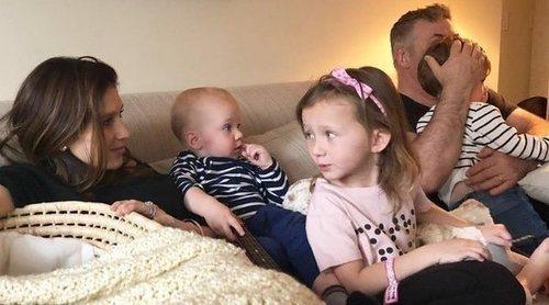 Hilaria Thomas y Alec Baldwin ya están en casa con su cuarto hijo en común: 'Cansada, pero feliz'