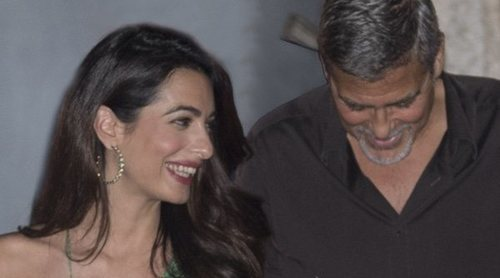 George Clooney y Amal Alamuddin, retenidos por la policía tras la boda del Príncipe Harry y Meghan Markle
