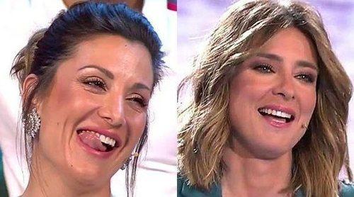 El coqueteo de Nagore Robles y Sandra Barneda en 'Conexión Honduras': 'Vengo de novia, ¿te gusto?'
