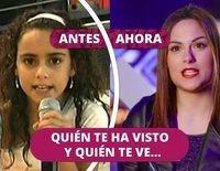 Así ha cambiado María Jesús López (3+2): De 'Eurojunior 2003' a 'Factor X'