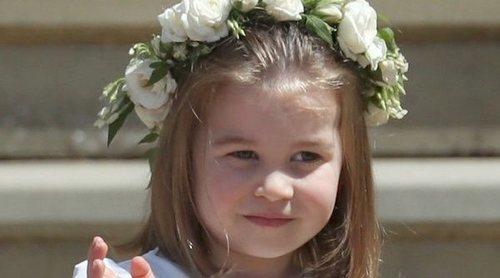 La Princesa Carlota dirigió a los pajes y las damas en la boda del Príncipe Harry y Meghan Markle