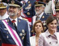 Los Reyes Felipe y Letizia presiden el desfile del Día de las Fuerzas Armadas en Logroño