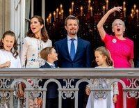 La Reina Margarita de Dinamarca, la protagonista del saludo del Príncipe Federico por su 50 cumpleaños