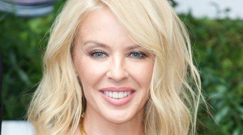 Kylie Minogue celebra su 50 cumpleaños con su exnovio Jason Donovan y con Mel C y James Blunt