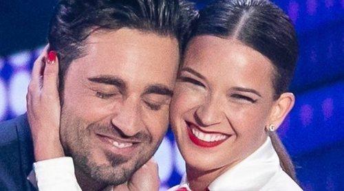 David Bustamante y Yana Olina, incómodos ante el comentario de Joaquín Cortés: 'No sé si es amor o no'