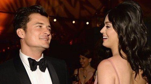 Katy Perry publica por error un mensaje íntimo en Instagram para Orlando Bloom