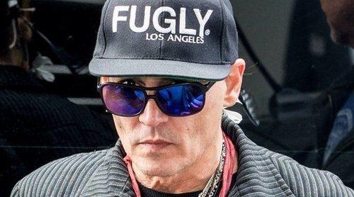 Johnny Depp preocupa a sus fans por su aspecto muy desmejorado