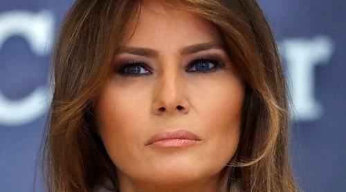 Melania Trump reaparece casi un mes después de su operación de una insuficiencia renal