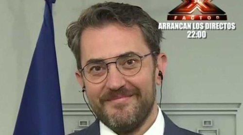 Màxim Huerta concede su primera entrevista como Ministro a Ana Rosa Quintana