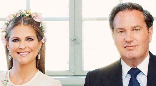La ausencia de Leonor y Nicolás de Suecia marca las fotografías oficiales del bautizo de Adrienne de Suecia