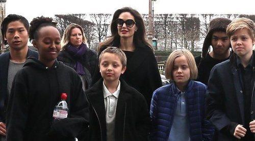 Angelina Jolie, a punto de perder la custodia de sus seis hijos