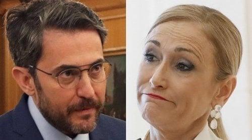 La pullita de Cristina Cifuentes a Màxim Huerta: 'Buenos días a los que aplican la hipocresía'