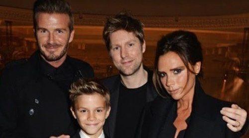 David y Victoria Beckham acallan los rumores de divorcio con una cena en familia