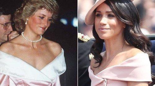 Meghan Markle rinde homenaje a Diana de Gales con su vestido en Trooping The Colour