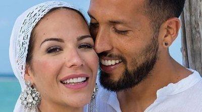 Así son las fotos de la romántica boda de Tamara Gorro y Ezequiel Garay por el rito de Maldivas