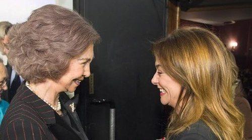 La Reina Sofía, el consuelo de Toñi Moreno en sus peores momentos