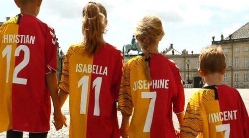 Las divertidas camisetas para los Príncipes de Dinamarca por el Mundial de Rusia