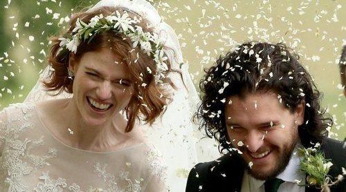Así ha sido la romántica boda de Kit Harington y Rose Leslie de 'Juego de Tronos'