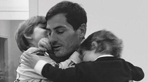 El reencuentro de Iker Casillas con su familia tras cubrir como comentarista el Mundial de Rusia 2018