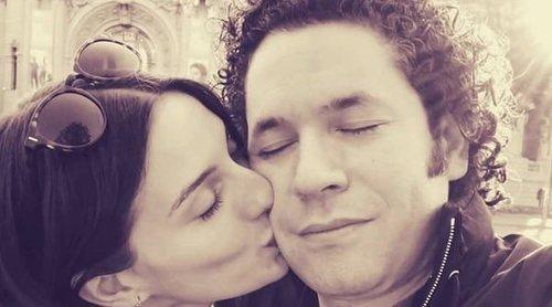 El romántico mensaje de María Valverde a Gustavo Dudamel: 'Sabemos que esto es solo el principio'
