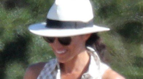Meghan Markle, el mejor apoyo del Príncipe Harry en el torneo de polo benéfico de Ascot