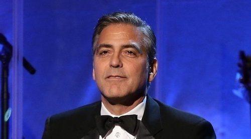 George Clooney, herido leve tras sufrir un accidente de moto en Italia