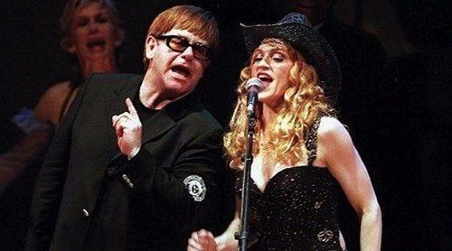 Enemigos Íntimos: El premio que convirtió la buena relación de Madonna y Elton John en un duelo de divos