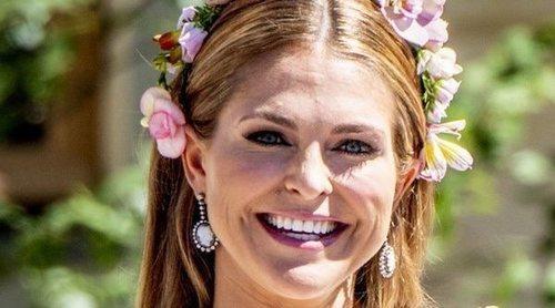 Magdalena de Suecia celebra el cuarto mes de vida de su hija Adrienne con una entrañable fotografía