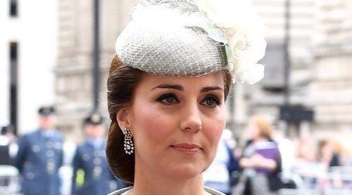 Kate Middleton vuelve a la agenda oficial para celebrar el centenario de la RAF con toda la Familia Real Británica