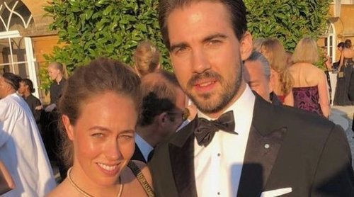 Felipe de Grecia presenta a su nueva novia, Nina Flohr, en una boda por todo lo alto