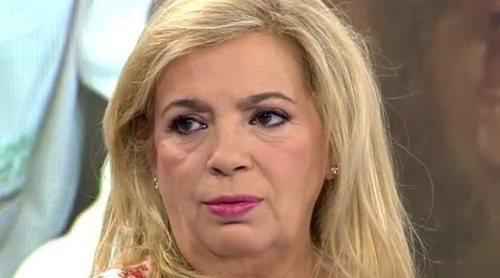 Carmen Borrego confiesa cómo ha vivido la operación del cáncer de mama de Terelu Campos