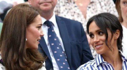 Kate Middleton y Meghan Markle, dos Duquesas muy cómplices en Wimbledon 2018