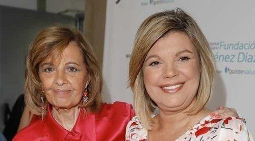 María Teresa Campos, feliz por la buena recuperación de Terelu Campos tras ser operada de un tumor en el pecho