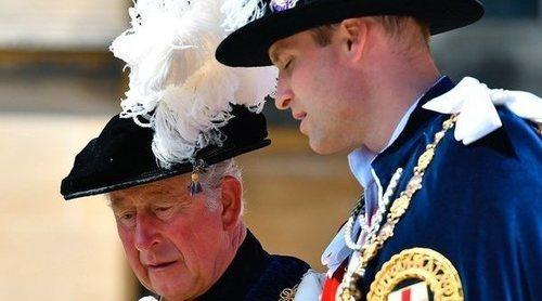Los Príncipes Carlos y Guillermo de Inglaterra se negaron a tomar el té con Donald Trump