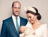 El Príncipe Jorge y la Princesa Carlota, protagonistas de las fotos oficiales del bautizo del Príncipe Luis