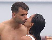 Las románticas vacaciones de Nicole Scherzinger con su novio Grigor Dimitrov en Saint-Tropez