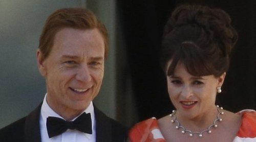 Helena Bonham Carter y Ben Daniels, un matrimonio ¿bien avenido? en el rodaje de la tercera temporada de 'The Crown'
