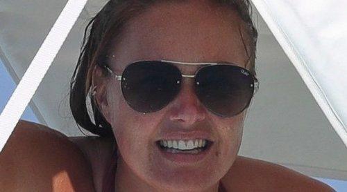 Tamara Ecclestone disfruta de unas vacaciones familiares en Ibiza