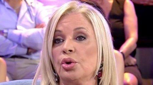 Bárbara Rey juega al misterio cuando le preguntan por Don Juan Carlos: