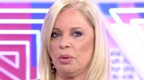 Bárbara Rey amenazó con abandonar el plató de 'Sábado Deluxe' por tratar temas que no quería