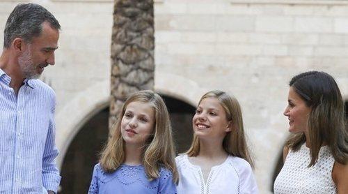 La extraña presencia que se ha colado en el posado de la Familia Real en el Palacio de La Almudaina
